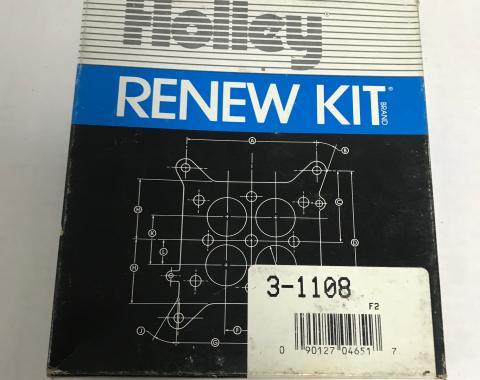 Holley Carburetor Rebuild Kit, 3-1108
