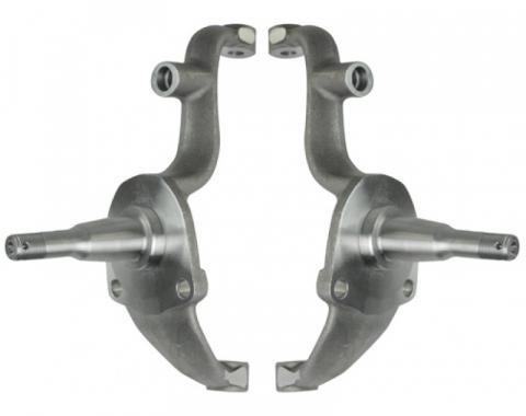 Full Size Chevy Spindles, OEM Type Stock Height, 1965-1968