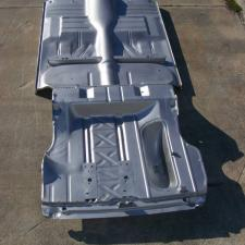 1956-57 Chevy 4-Door Hardtop Fully Welded Floor With Braces And Trunk Floor