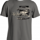 Laid Back 5-6-7 Chevy T-Shirt, Grey