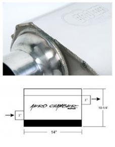 Hooker Aero Chamber Muffler 21530HKR