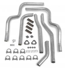 Hooker Dual Competition Manifold Back Exhaust System Kit 16624HKR