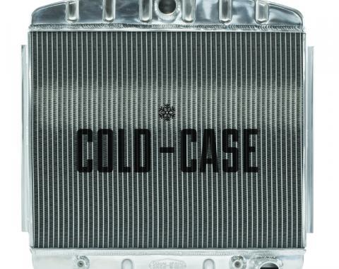 Cold Case Radiators 55-57 Tri-5 Chevy Aluminum Radiator (V8 Mount) CHT562A