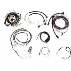Chevy Wiring Harness Kit, Manual Transmission, With Generator, Small Block, Nomad, 1955