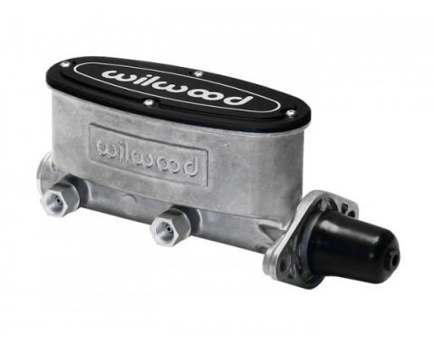 "Chevy Wilwood Aluminum Tandem Master Cylinder, 1.0"" Bore 1955-1957"