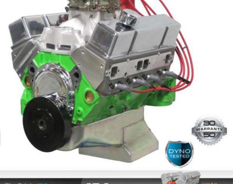 Chevy 454 C.I. Blueprint Pro Series Crate Engine 575HP, Roller Cam, Aluminum Heads, 1949-1954