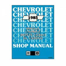 Late Great Chevy - Shop Manual, 1985