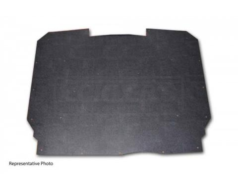 Early Chevy Under Hood Cover, Quietride AcoustiHOOD, 3-D Molded, Without Logo, 1953-1954