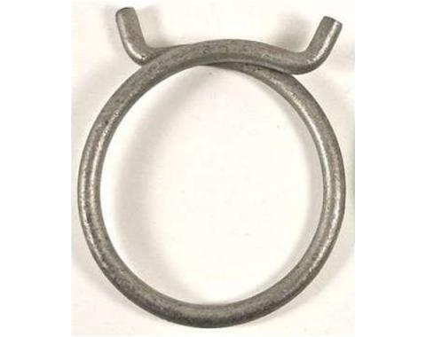 Full Size Chevy Radiator Hose Clamp, Spring Ring Style, Lower, 1958