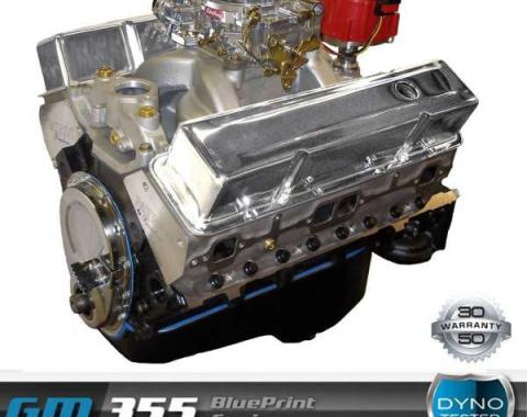 Chevy 355 C.I. Blueprint Crate Engine 390HP, Roller Cam, Aluminum Heads, 1949-1954