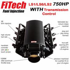 Ultimate LS Fuel Injection Kit for LS1/LS2/LS6 - 750HP With Trans. Control | FiTech - 70004
