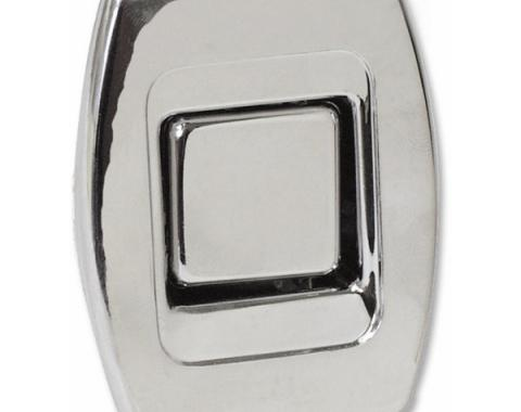 Bucket Seat Back Release Button, 1969-1972