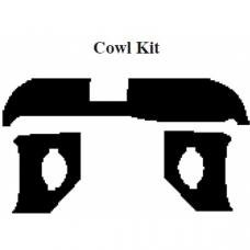 Chevy Insulation, QuietRide, AcoustiShield, Cowl/Dash Kit, Nomad, 1958