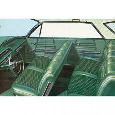 Full Size Chevy Seat Cover Set, 4-Door Hardtop, Impala, 1964