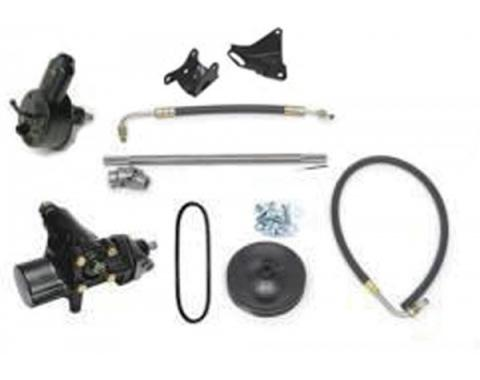 Full Size Chevy Steering Conversion Kit, 500 Series, 348 & 409, 1960-1964
