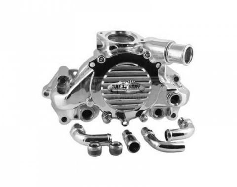 Early Chevy Water Pump, LT1, Polished, 1949-1954