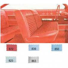 Full Size Chevy Preassembled Door Panel & Quarter Trim Panel Interior Kit Service, 2-Door Hardtop, Bel Air, 1962