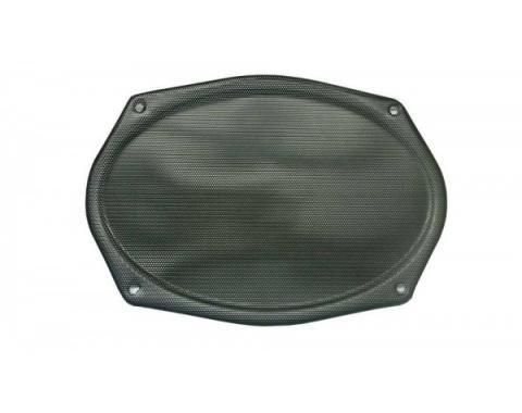 Chevy Speaker Grille, Rear, Black 1955-1957