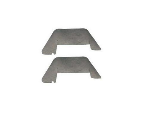 Chevy Control Arm Dust Shields, 1955-1956