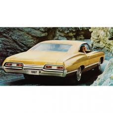Full Size Chevy Seat Cover Set, Vinyl, 2-Door Hardtop, Impala, 1967