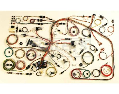 Chevy Classic Update Wiring Kit, Impala, American Autowire, 1966-1968