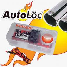 Classic Chevy Autoloc Flame Thrower Kit, Dual Exhaust, 1955-1957
