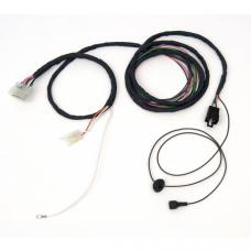 Full Size Chevy Rear Body Wiring Harness, Forward Section, Impala & Bel 2-Door Hardtop, 1961