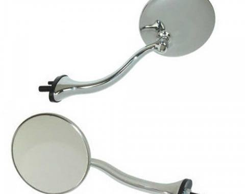 Early Chevy 49-54 - Swan Neck Mirrors, 49-54