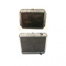 Full Size Chevy 4-Core Radiator, With Automatic Transmission, 283ci, 1961