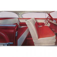 Chevy Side Panel Kit, Pre Assembled, Hardtop, Bel Air, 1954