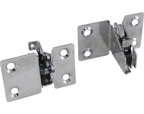 Chevy - Nomad or Wagon Tailgate Latches, Chrome, 1955-1957