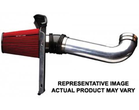 Full Size Chevy Air Intake Kit, 4 inch, Single Inlet, LSX, Passenger Side, With MAF, 1963-1964