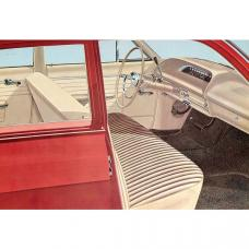 Full Size Chevy Seat Cover Set, 4-Door Sedan, Biscayne, 1964