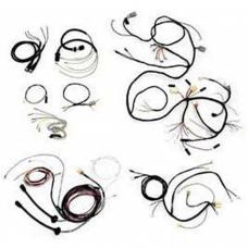 Chevy Wiring Harness Kit, V8, Automatic Transmission, With Generator, 210, Bel Air 4-Door Sedan, 1955