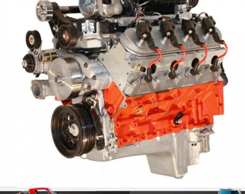BluePrint Pro Series 427 LS3 Small Block 750HP Supercharged Crate Engine