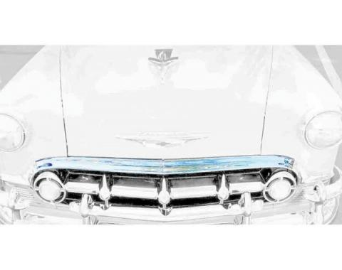 Chevy Upper Grille Molding, 1954