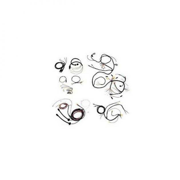 chevy wiring harness kit  v8  automatic transmission  with
