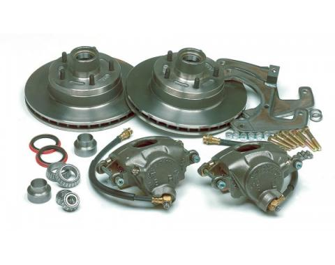 Chevy Disc Brake Kit, Front, For Stock Spindles, 1949-1954