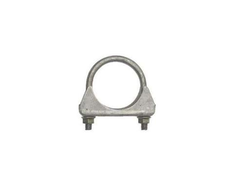 "Early Chevy Exhaust Muffler Clamp, Steel, 2-1/4"", 1949-1954"