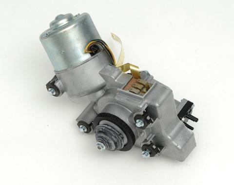 Full Size Chevy Windshield Wiper Motor, 2-Speed, With Washer Pump, 1959-1962