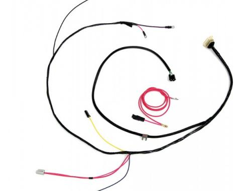 Full Size Chevy Engine Starter Wiring Harness, Small Block,For Use With GM HEI Distributor, 1962