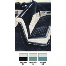 Chevy Interior Package Kit, Delray 2-Door Sedan, 1956