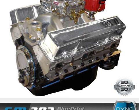 Chevy 383 C.I. Blueprint Crate Engine 430HP, Roller Cam, Aluminum Heads, 1949-1954