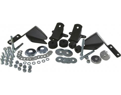 Chevy Side Engine Mounts, Small Block V8, 1955-1957