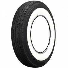"""Full Size Chevy Tire, Original Appearance, Radial Construction, 7.50 x 14"""" With 2-3/4"""" Whitewall, 1958-1961"""