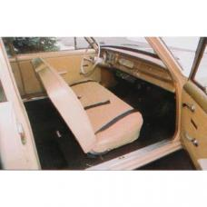 PUI 1965 Chevrolet Chevy II Split Bench Front Seat Covers 65XSB