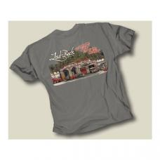 Laid Back Dream Garage T-Shirt, Grey