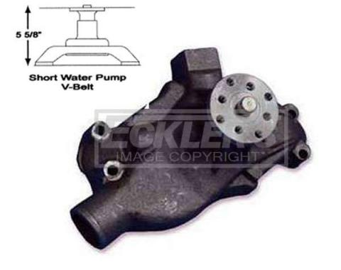 Early Chevy Hi Flow Water Pump, Stewart, Small Block, ShortStyle, 1949-1954