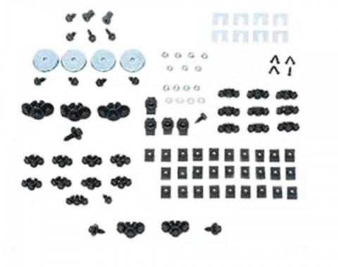 Late Great Chevy - Front End Fastener Kit, Stainless Steel, 1965-1970