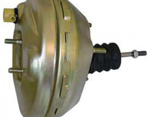 Full Size Chevy Power Brake Booster, 9, Single Diaphragm, 1964-1966